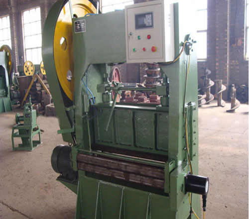 Punching Press for Perforation of Aluminum, Steel and Various Metals
